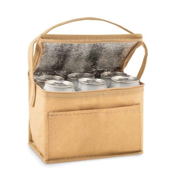 Χάρτινο cooler bag για 6 κουτιά