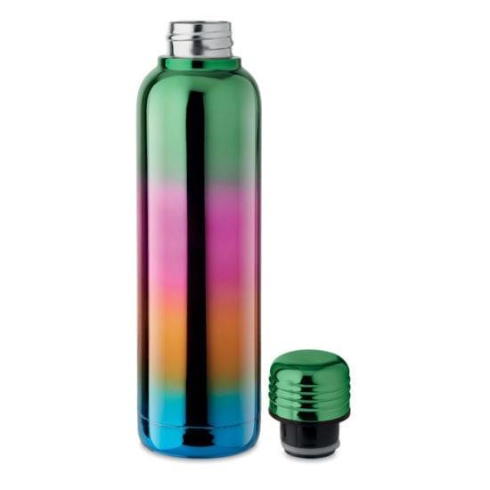 Μπουκάλι από ανοξείδωτο ατσάλι διπλού τοιχώματος σε γυαλιστερό φινίρισμα UV