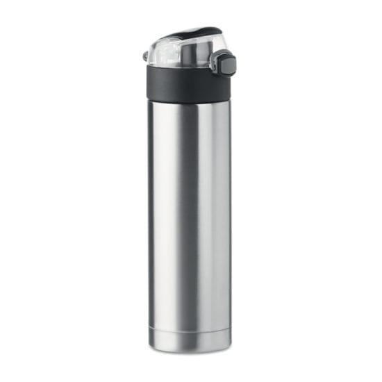 Μπουκάλι νερού διπλού τοιχώματος από ανοξείδωτο ατσάλι με κλειδαριά ασφαλείας στο καπάκι