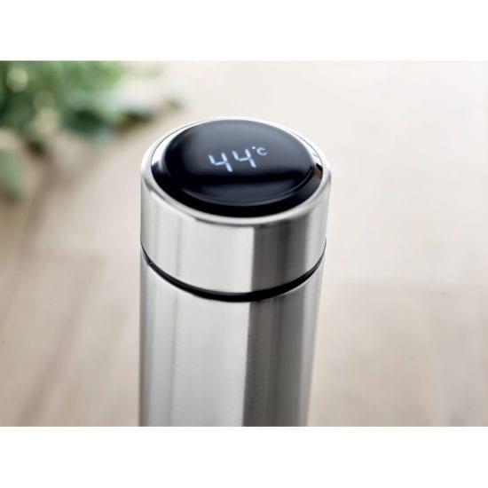 Μπουκάλι από ανοξείδωτο ατσάλι με θερμόμετρο αφής LED